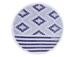 THE MONTAUK ROUND TOWEL // $110