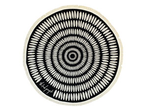 THE TULUM ROUND TOWEL // $99