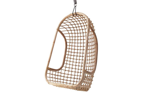 RATTAN HANGING CHAIR NATURAL // $499