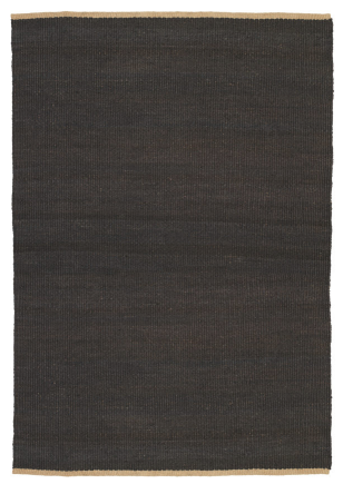 Nest Weave Charcoal Rug by Armadillo & Co