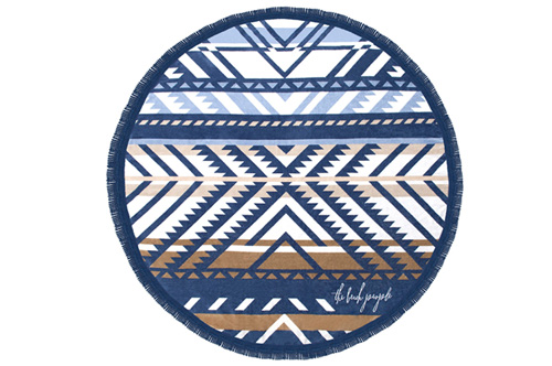THE LORNE ROUND TOWEL // $99