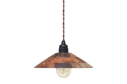 WOODEN PENDANT LAMP // $159