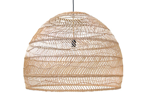 WICKER HANGING LAMP L // $699