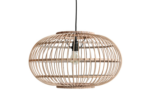BAMBOO HANGING LAMP // $119