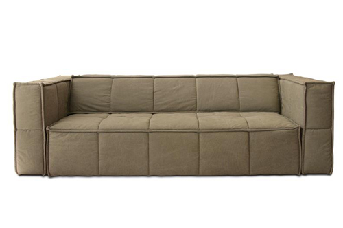 HK LIVING COUCH - KHAKI BROWN // $2995