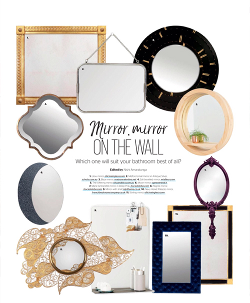 Kira & KIra Kitchens and Bathrooms Quarterly Offering Mirror