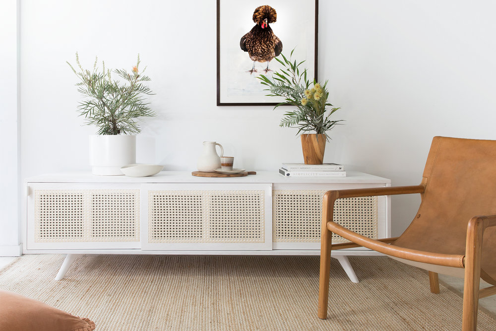 THE ICONIC CREDENZA IN WHITE