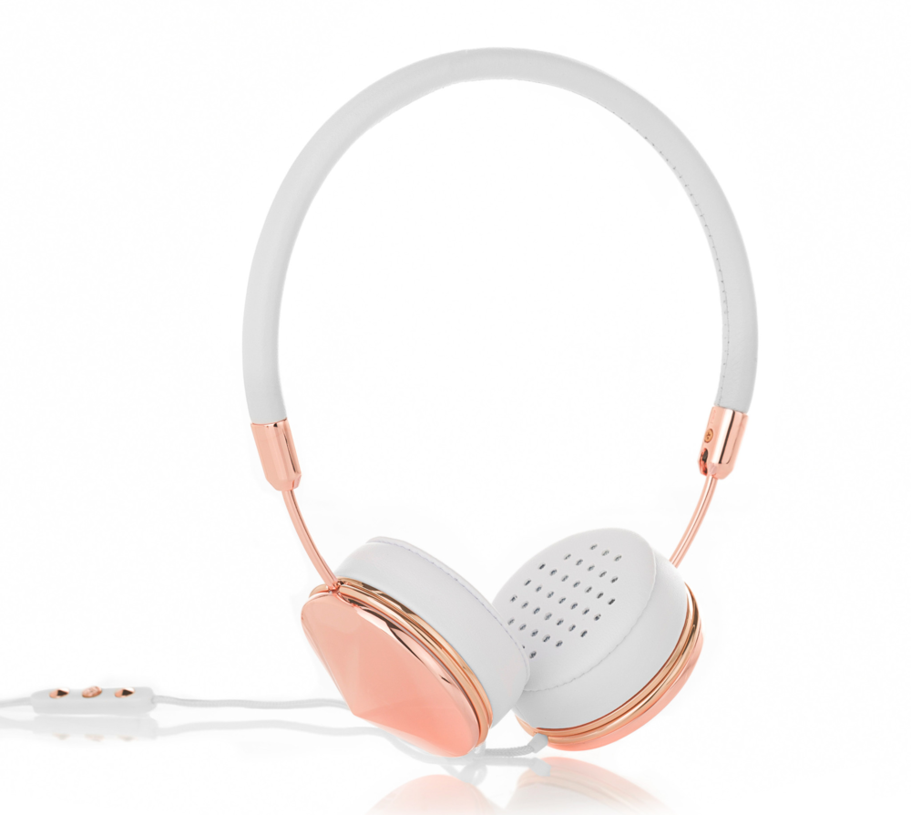 Most dreamy of headphones in rose gold!  Image Source : Frends