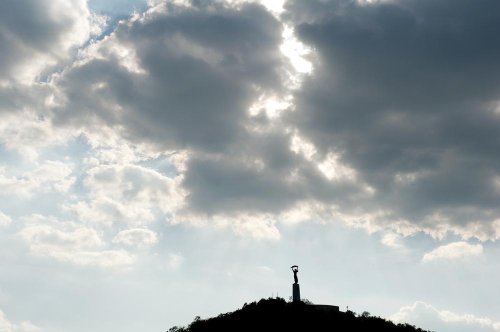 szabadság szobor [újbuda, budapest, hungary, 2012]