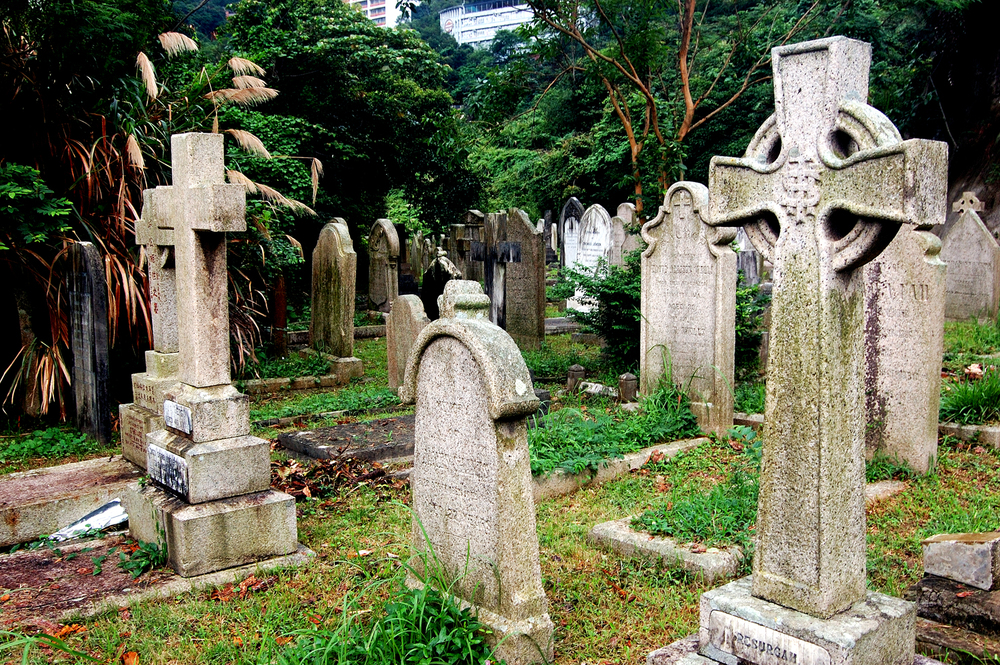 untitled #120  [hong kong protestant cemetery, happy valley, hong kong, 2006]