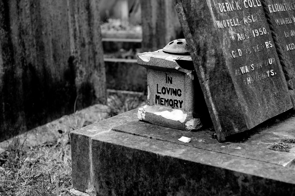 in loving memory  [city of london cemetery, manor park, london, england, 2011]