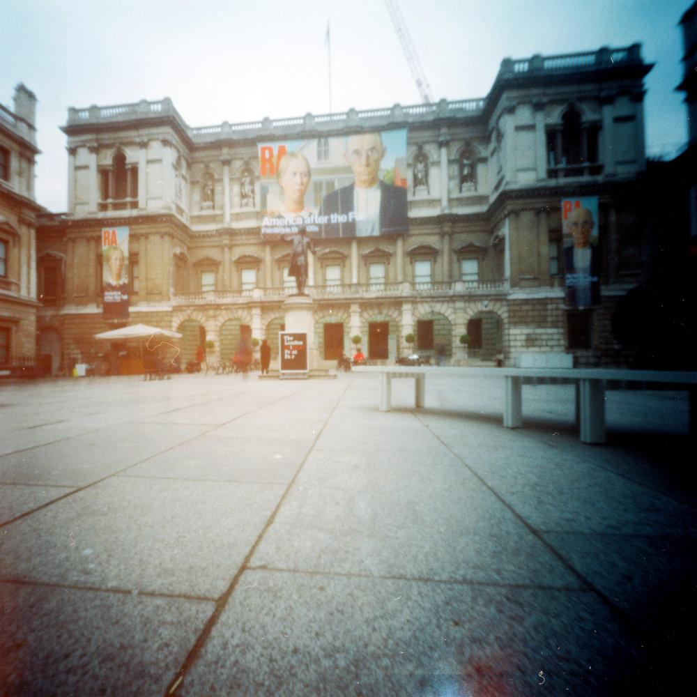 american gothic in london [royal academy, mayfair, london, england, 2017]