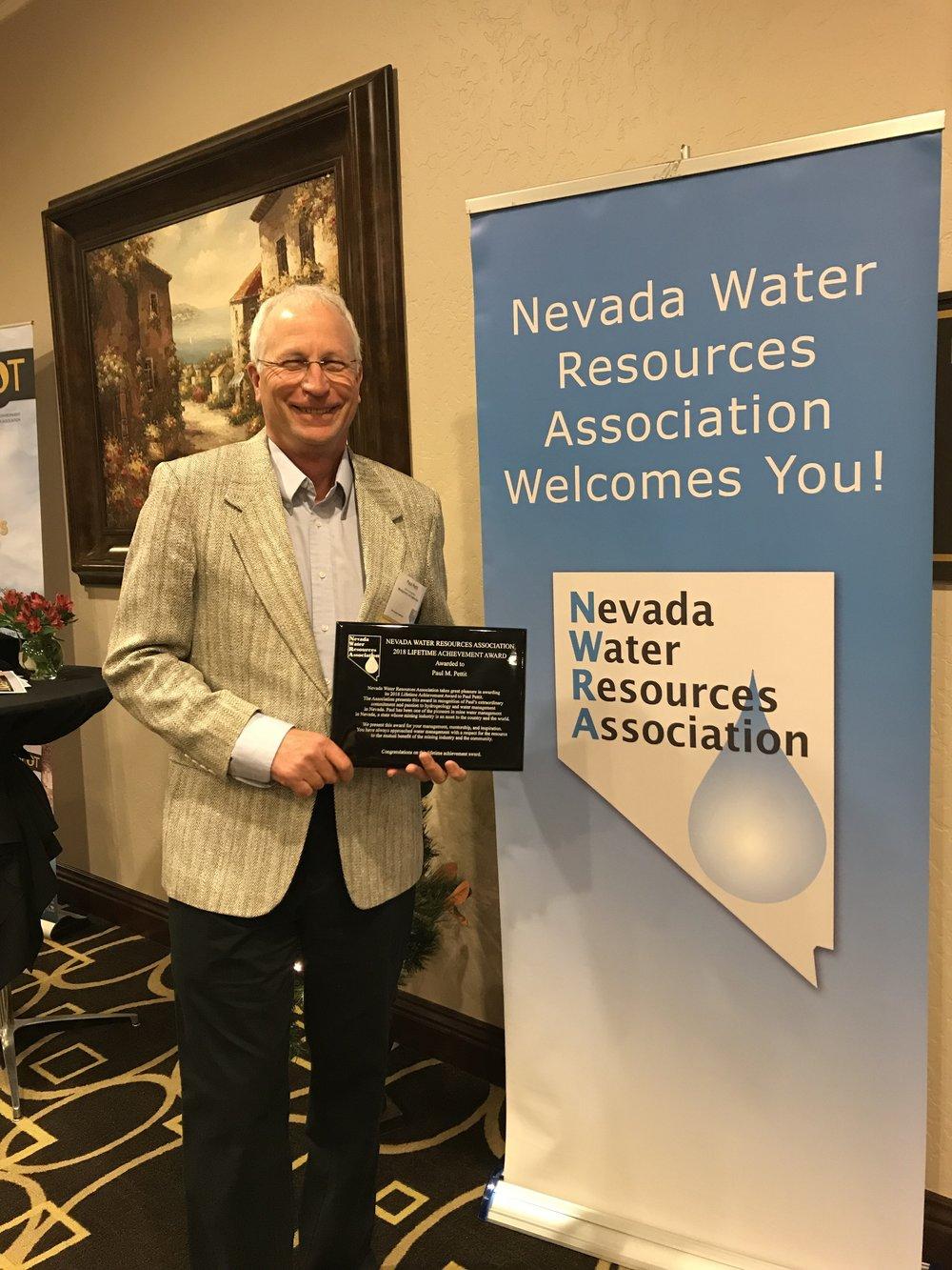 2018 NWRA Lifetime achievement award winner, mr. paul pettit!  Read more here.