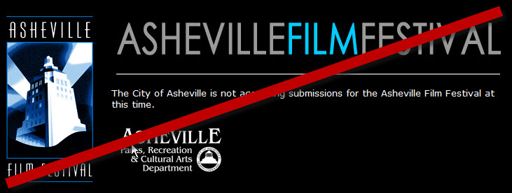 Asheville Film Festival No More