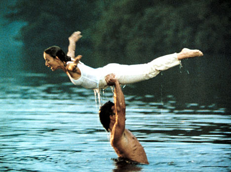 Jennifer Grey and Patrick Stewart Dirty Dancing
