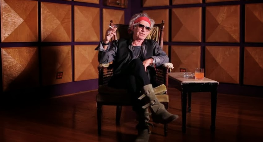 "Keith Richards is featured in ""Muscle Shoals"""
