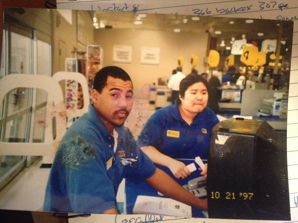 17 years and 50 pounds ago in a Best Buy not so far away...