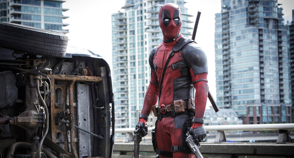 Hey look, it's Deadpool! Do you think he knows he's in a Podcast post on CinemATL?