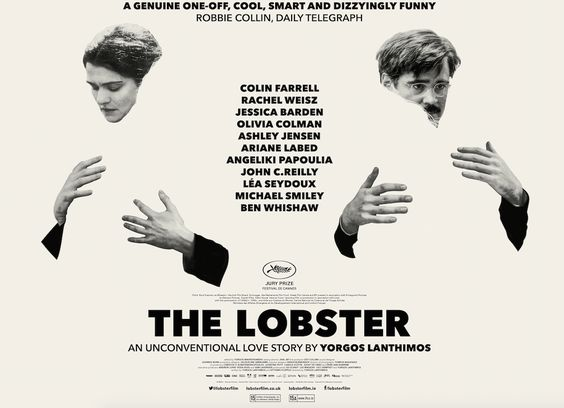 Theatrical poster for Yorgos Lanthimos' The Lobster