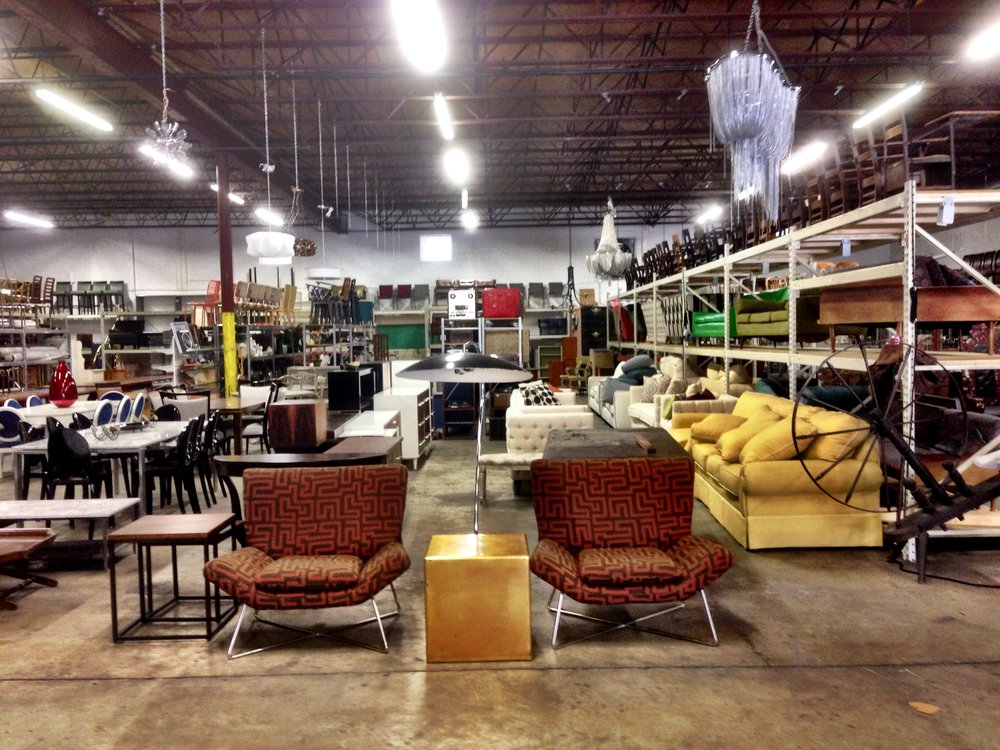The warehouse at ATLiER Props & Design