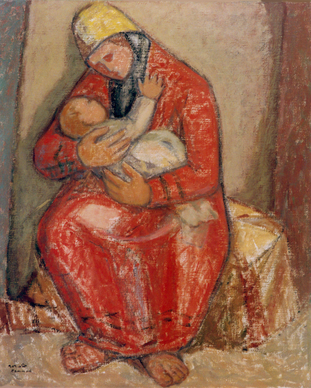 Motherhood . 1959 . أمومة