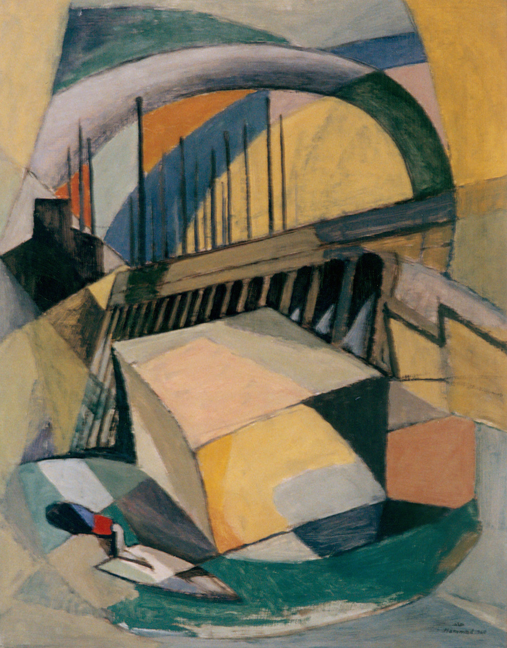 Composition . تكوين . 1960
