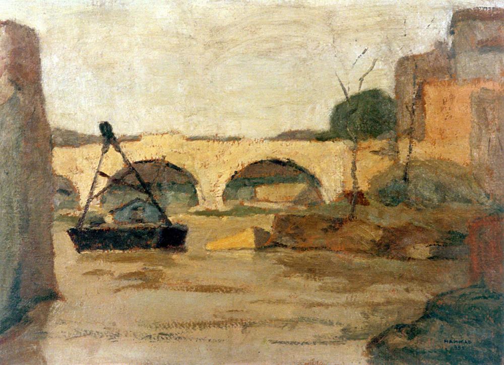 Scene . 1955 . منظر طبيعي