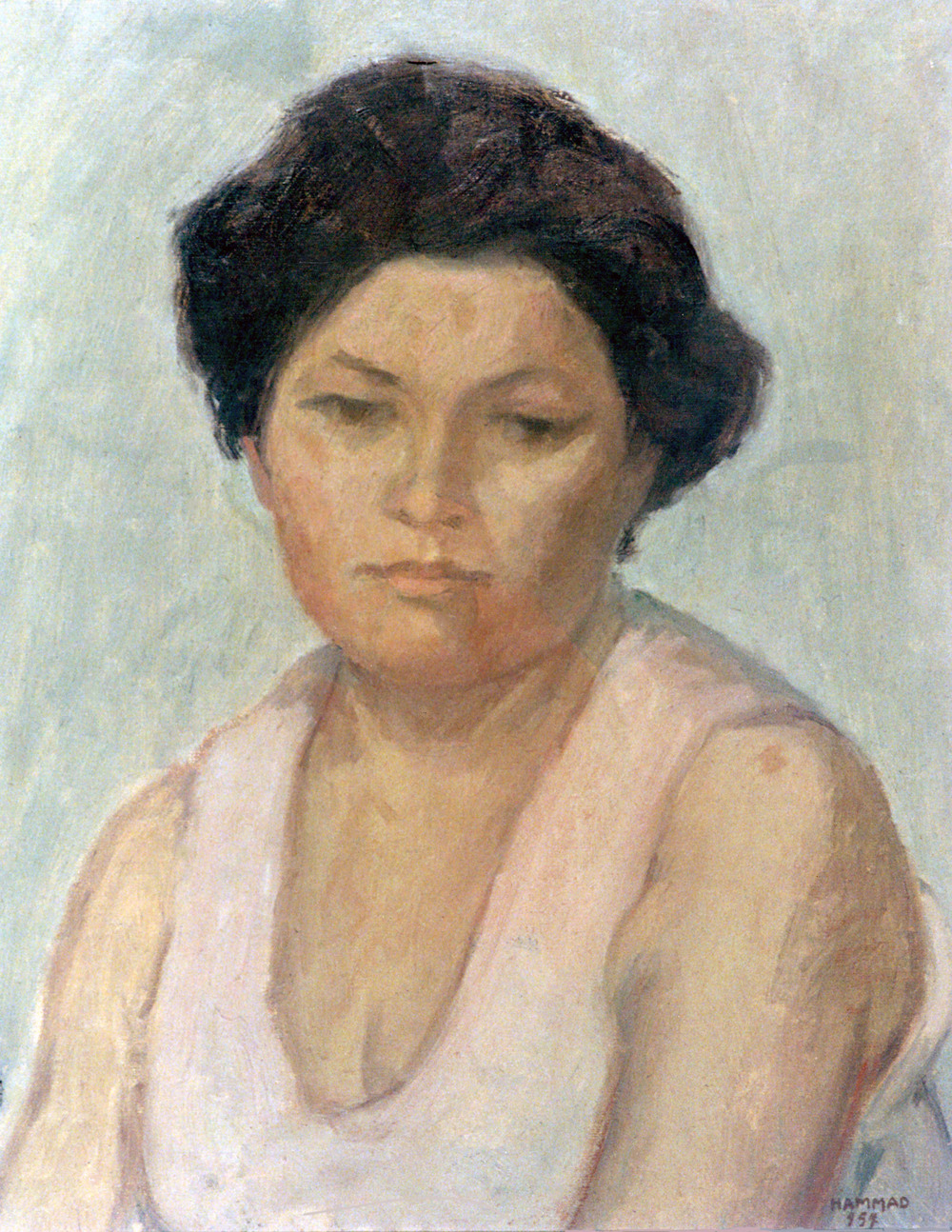 Portrait . 1957 . بورتريه