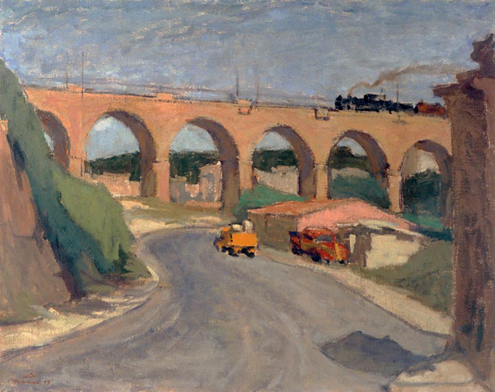 Scene . 1957 . منظر طبيعي