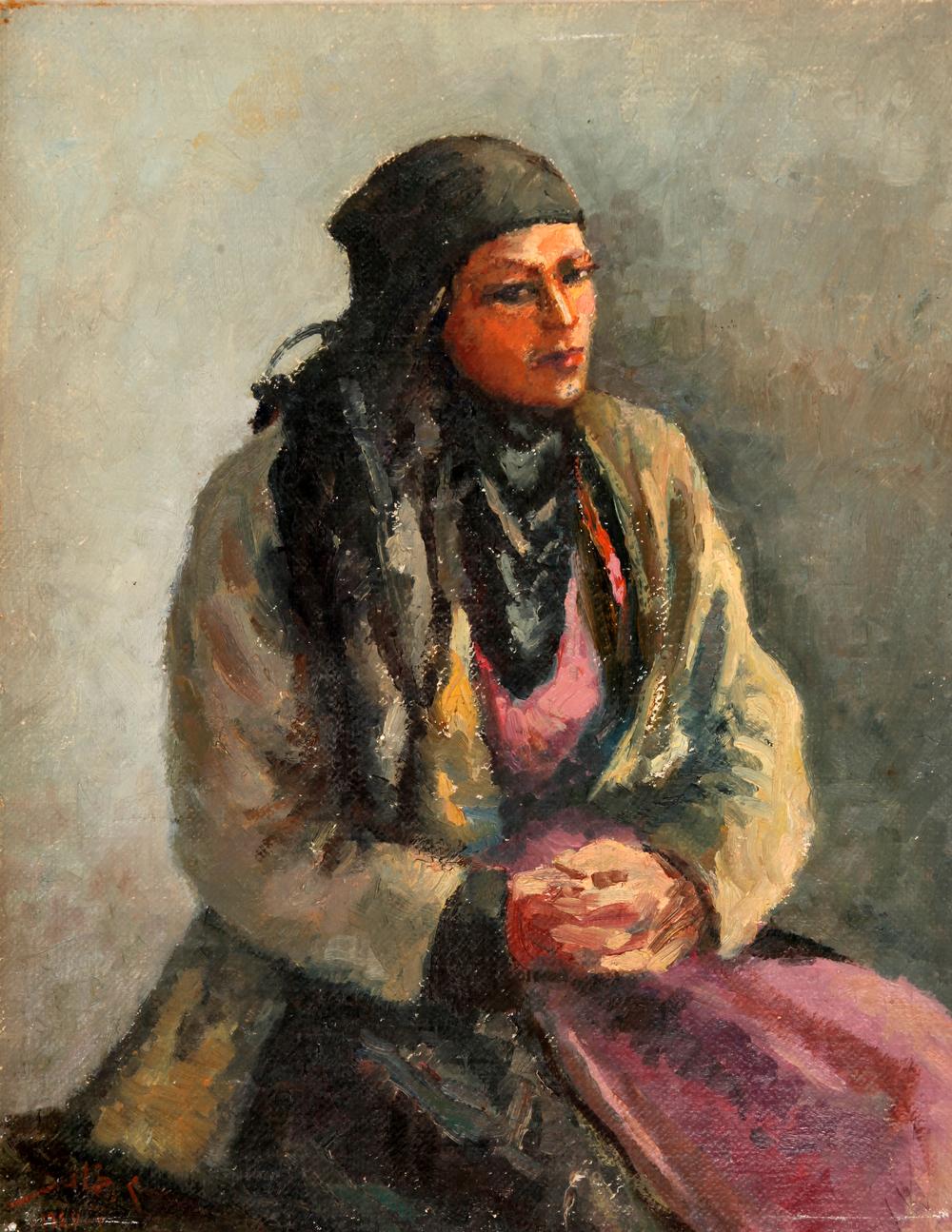 Villager . 3 - 1947 . فلاحة