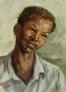 Portrait . 1948 . بورتريه