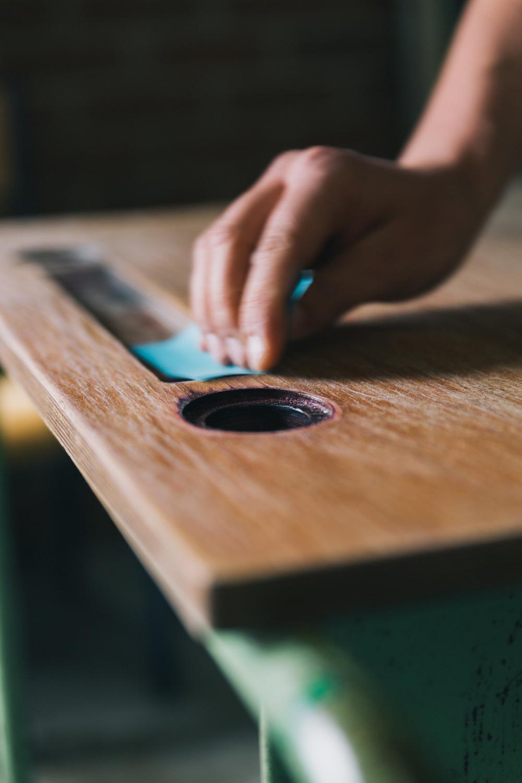 Schuurpapier - Firma Zoethout. Foto: Mitchell van Voorbergen