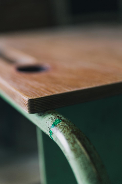 Schooltafel - Firma Zoethout. Foto: Mitchell van Voorbergen