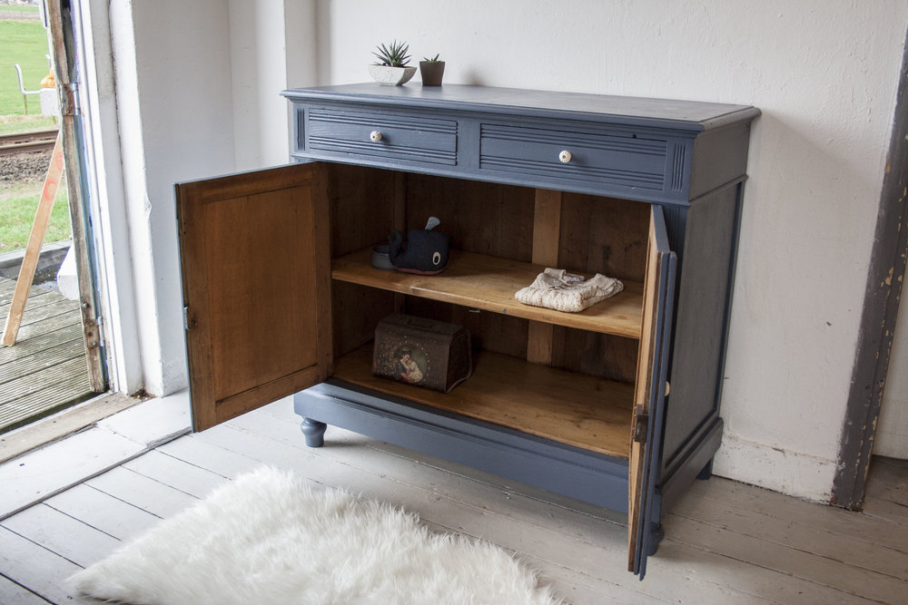 Denim blauwe vintage commode_3.jpg