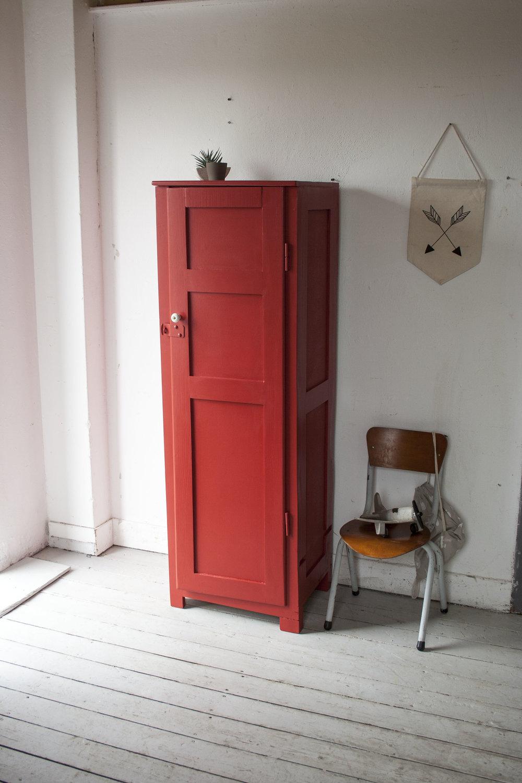 Rode houten locker - Firma Zoethout_1.jpg