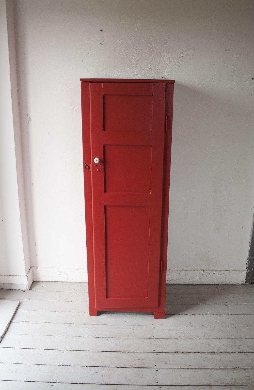 Rode houten locker - Firma Zoethout_4.jpg