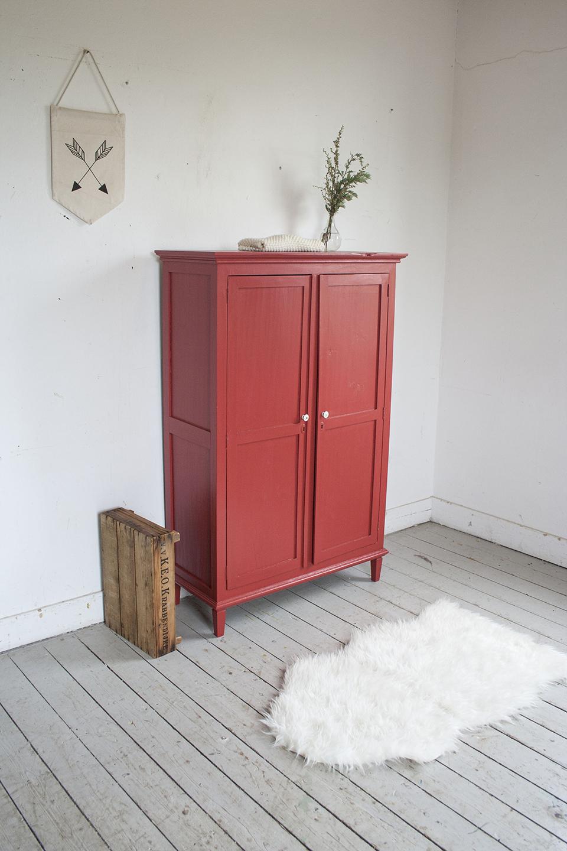 Rood vintage kastje - Firma Zoethout_1.jpg