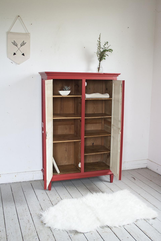 Rood vintage kastje - Firma Zoethout_4.jpg