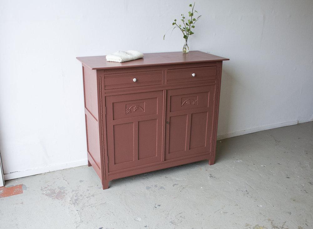 Vintage roze commode - Firma Zoethout_1.jpg