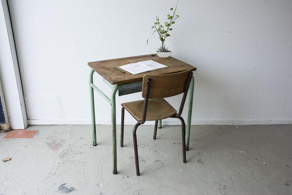 1persoons vintage schooltafeltje - Firma Zoethout_1.jpg