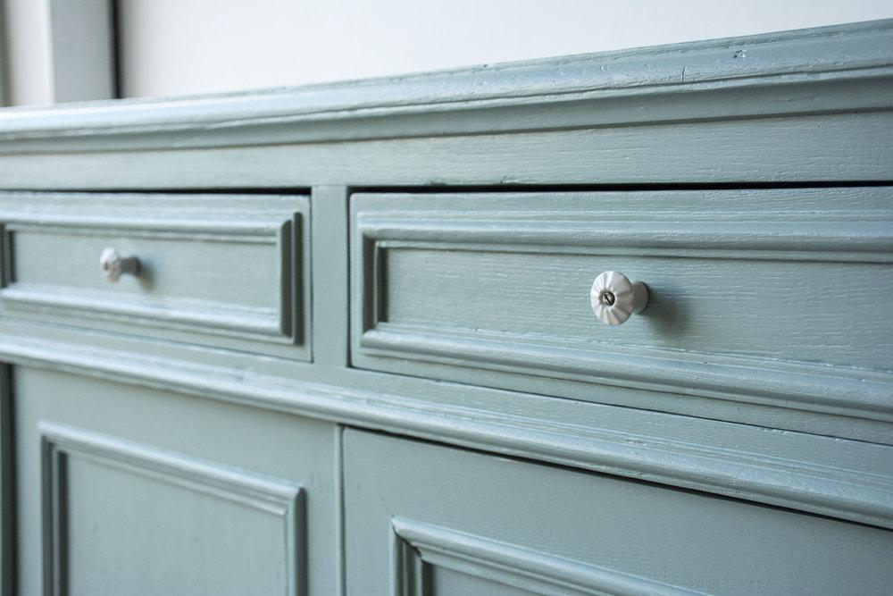 Groenblauwe vintage commode- Firma Zoethout_3.jpg