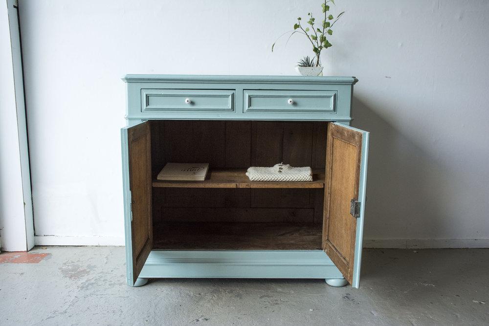 Groenblauwe vintage commode- Firma Zoethout_5.jpg