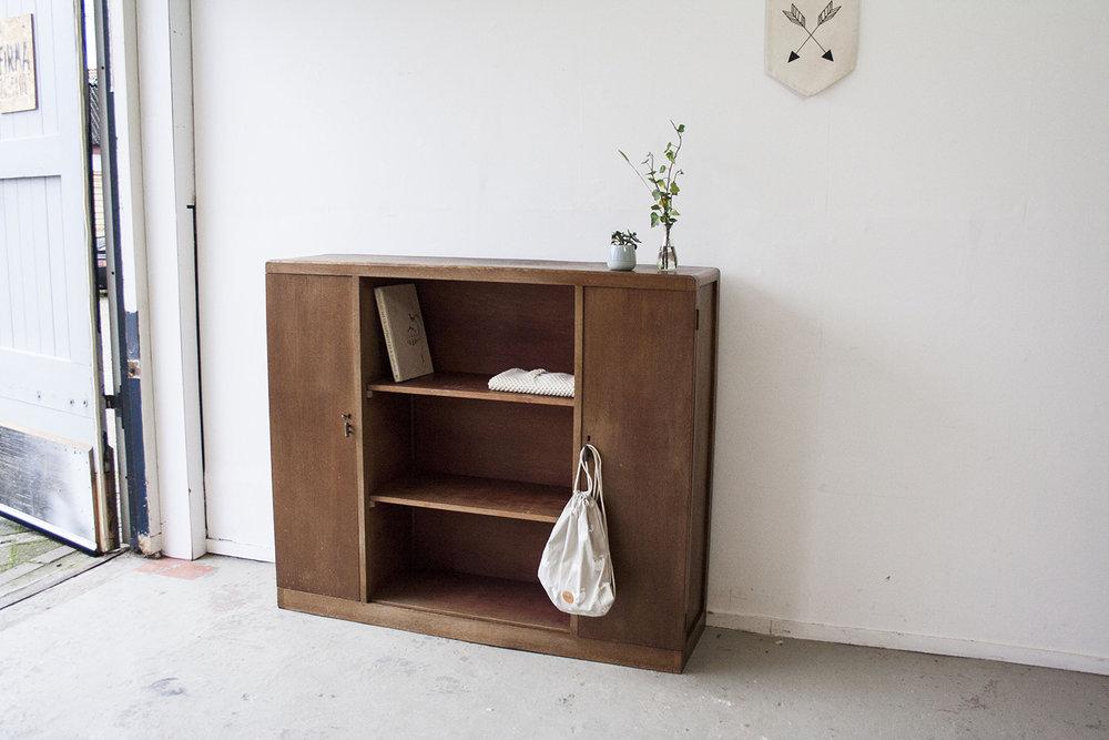 Vintage open kast van hout - Firmazoethout_2.jpg