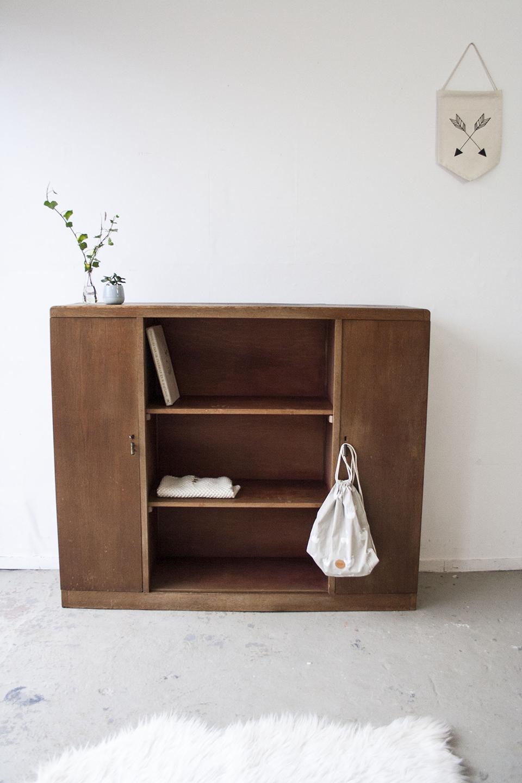 Vintage open kast van hout - Firmazoethout_5.jpg