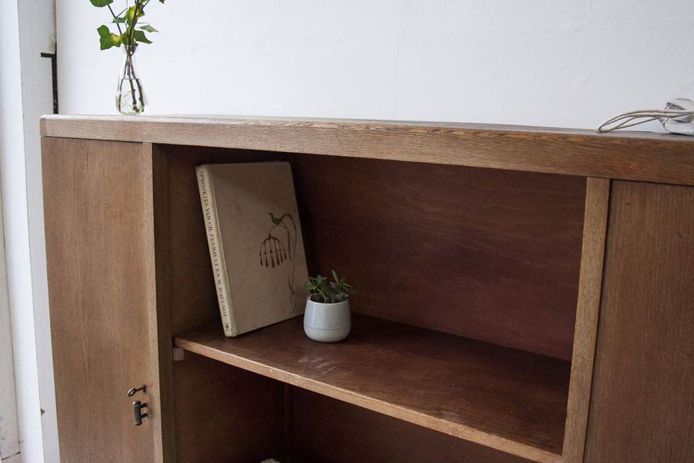 Vintage open kast van hout - Firmazoethout_7.jpg