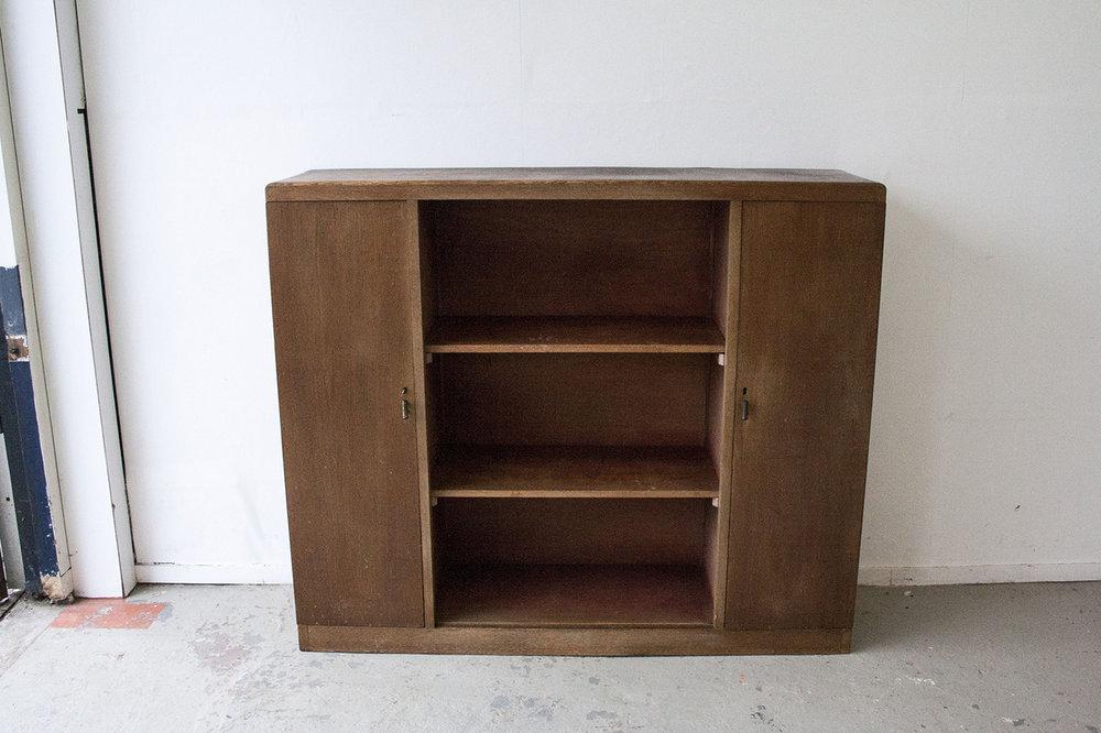 Vintage open kast van hout - Firmazoethout_8.jpg