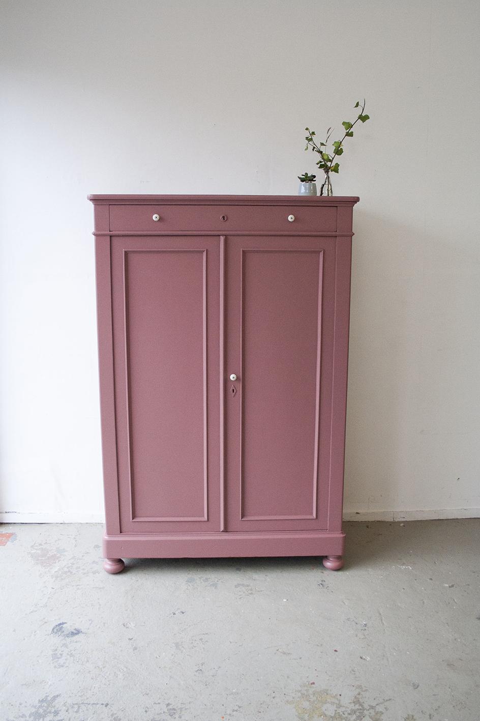Vintage roze meidenkast - Firmazoethout_3.jpg
