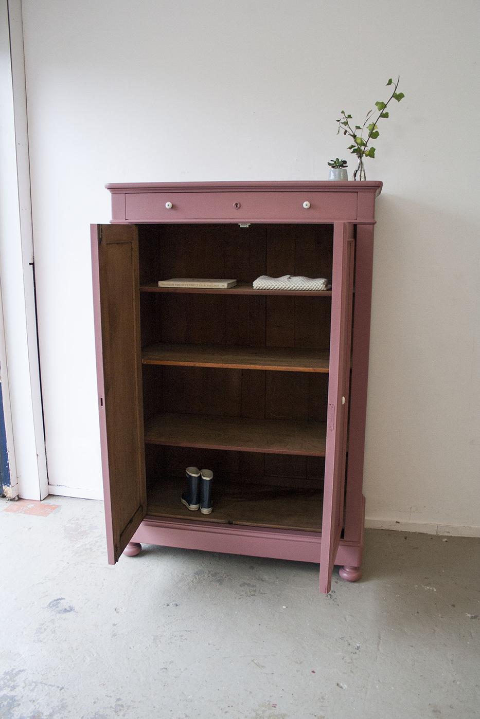 Vintage roze meidenkast - Firmazoethout_4.jpg