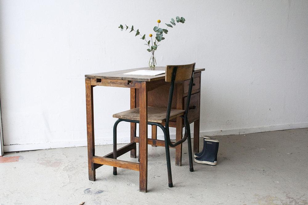 Houten vintage bureautje - Firmazoethout_3.jpg