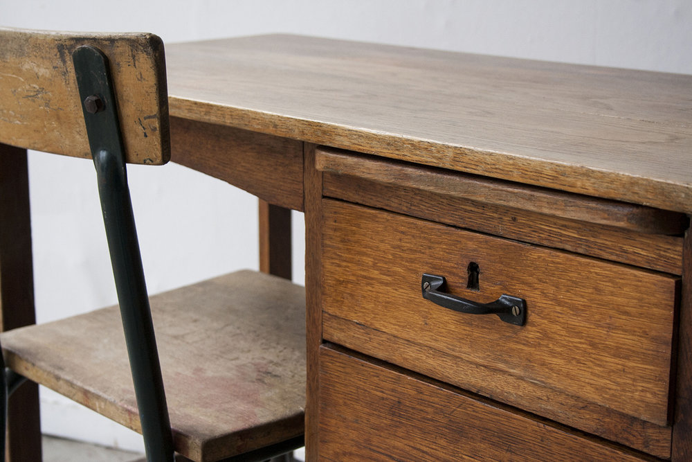 Houten vintage bureautje - Firmazoethout_4.jpg